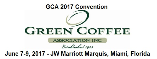 GCA, 2017, Green coffee