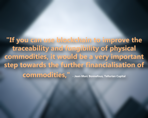 Blockchain and Commodities